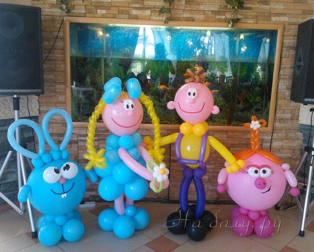 Куклы своими руками из шаров 68